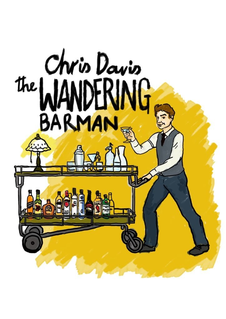 Chris Davis is The Wandering Barman