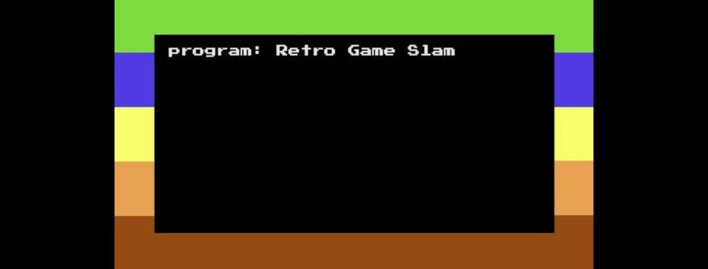 Retro Game Slam Banner Image